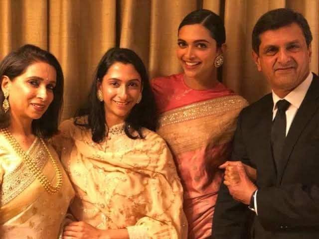 Deepika Padukone's father Prakash Padukone,