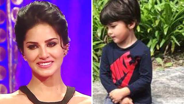Sunny Leone's three year old son Asher