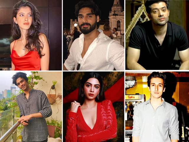 Star kids who will debut into Bollywood this year