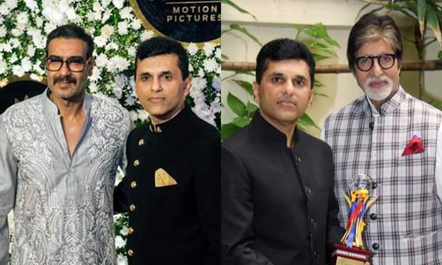 Ajay Devgan and Anand Pandit