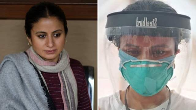 Rasika Dugal gets vaccinated,