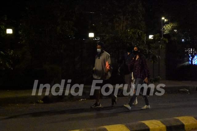 Ritvik Dhanjani snapped at Juhu on Wednesday evening!