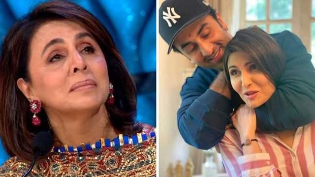 Neetu Kapoor Ranbir Kapoor and Riddhima Kapoor Sahni.