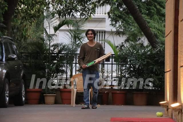 Arhaan Khan spotted in Bandra