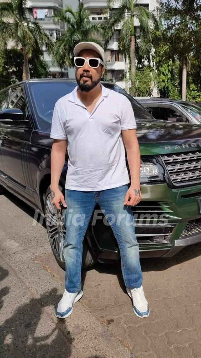 Mika Singh snapped in Andheri