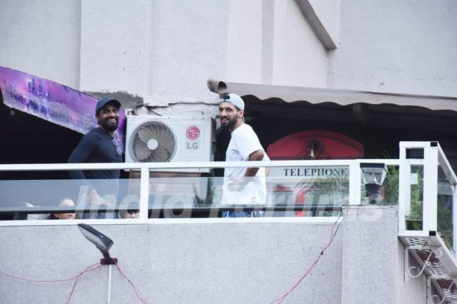Remo D'Souza and Punit Pathak spotted in Andheri