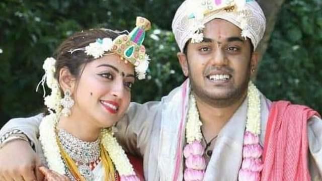 Pranitha Subhash Wedding