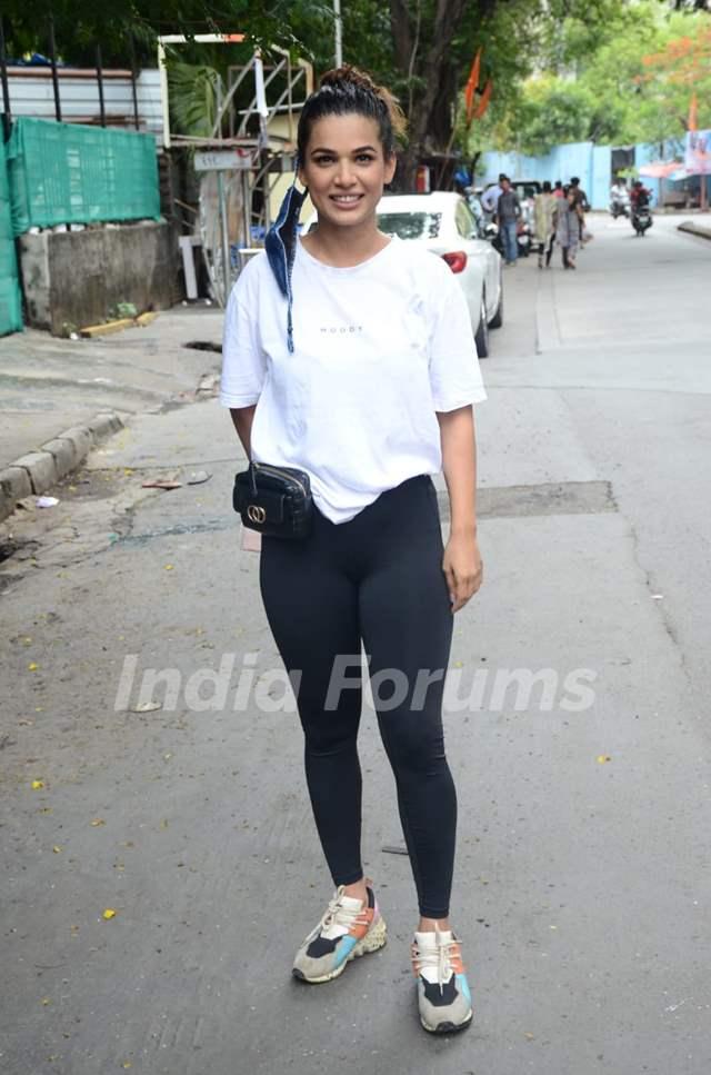 Naina Singh snapped in Andheri