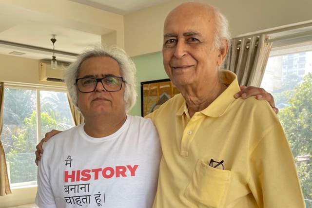 Hansal Mehta's father passes away