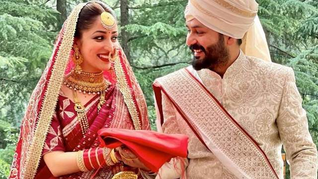 Yami Gautam and filmmaker Aditya Dhar Wedding