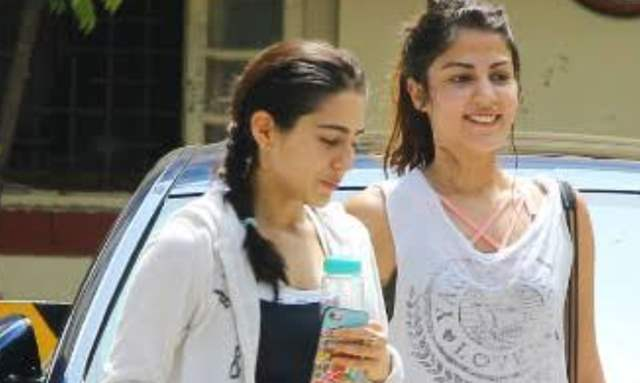 Sara ali khan and Rhea Chakraborty