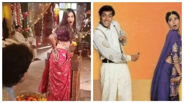 Mohit Parmar, Shiny Doshi, Salman Khan and Madhuri Dixit