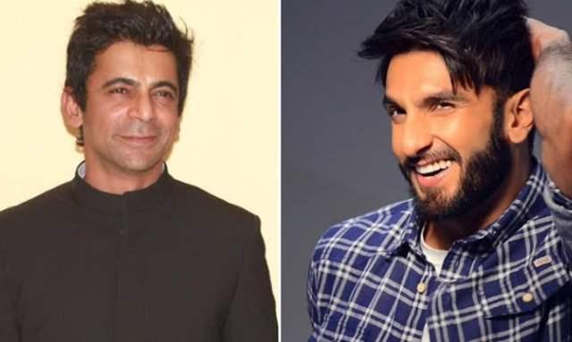 Sunil Grover and Ranveer Singh