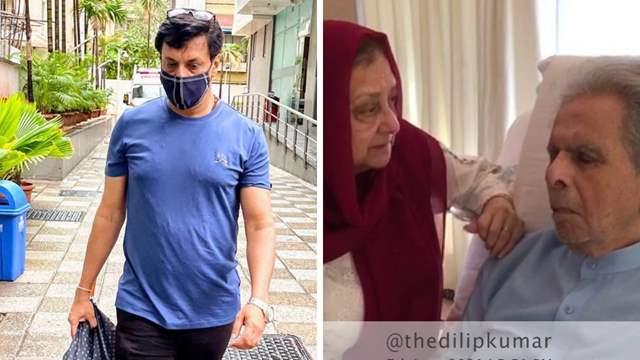 Dilip Kumar in hospital