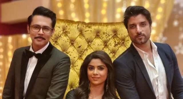 Ssudeep Sahir, Sayantani Ghosh and Nitin Chauhan