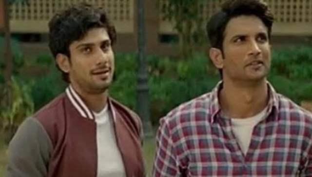 Sushant Singh Rajput and Prateik Babbar