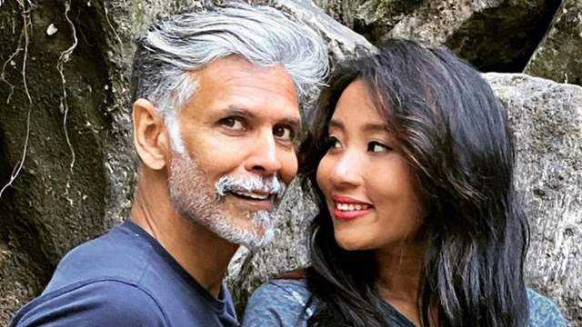 Milind Soman's wife Ankita Konwar