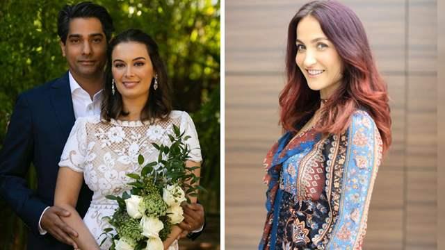 Evelyn Sharma wedding Tushaan Bhindi