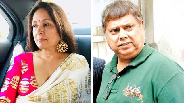 Neena Gupta and David Dhawan