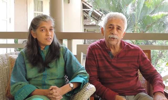 Ratna Pathak Shah and Naseeruddin Shah