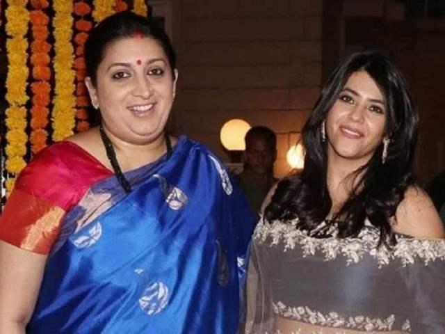 Smriti Irani and Ekta Kapoor