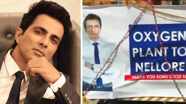 Sonu Sood's first oxygen plant