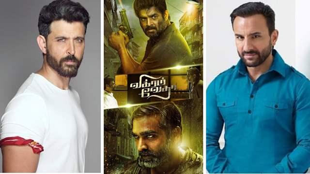 Hrithik Roshan and Saif Ali Khan in Vikram Vedha remake