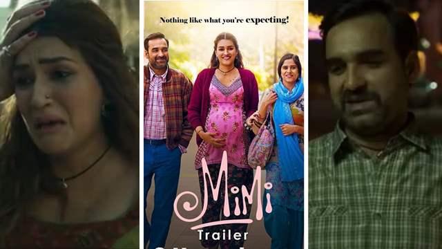 Mimi Trailer: Kriti Sanon, Pankaj Tripathi