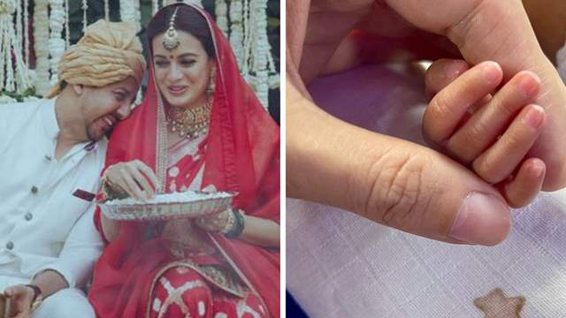 Dia Mirza blessed with a baby boy