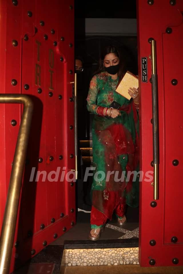 Yami Gautam snapped at Tori, Bandra