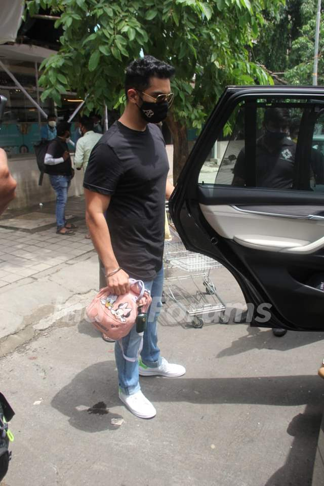 Angad Bedi snapped around the town