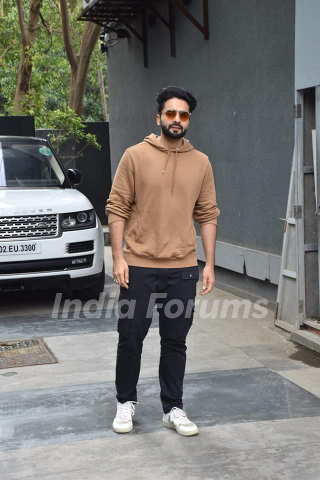 Jackky Bhagnani at the promotions of Bell Bottom
