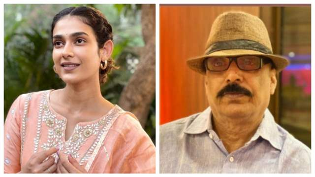 Aakanksha Singh and her father