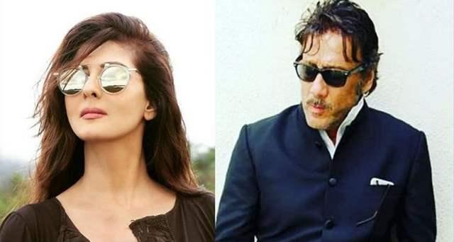 Sangeeta Bijlani and Jackie Shroff