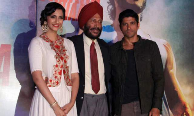 Sonam Kapoor at the promotions of Bhaag Milkha Bhaag