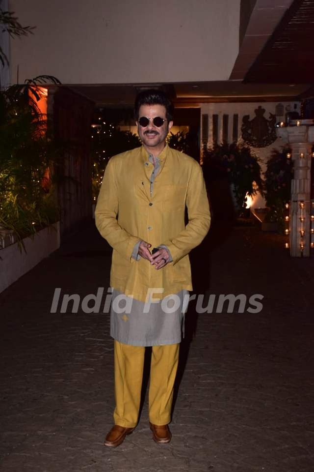 Anil Kapoor at Rhea Kapoor and Karan Boolani's wedding party Media