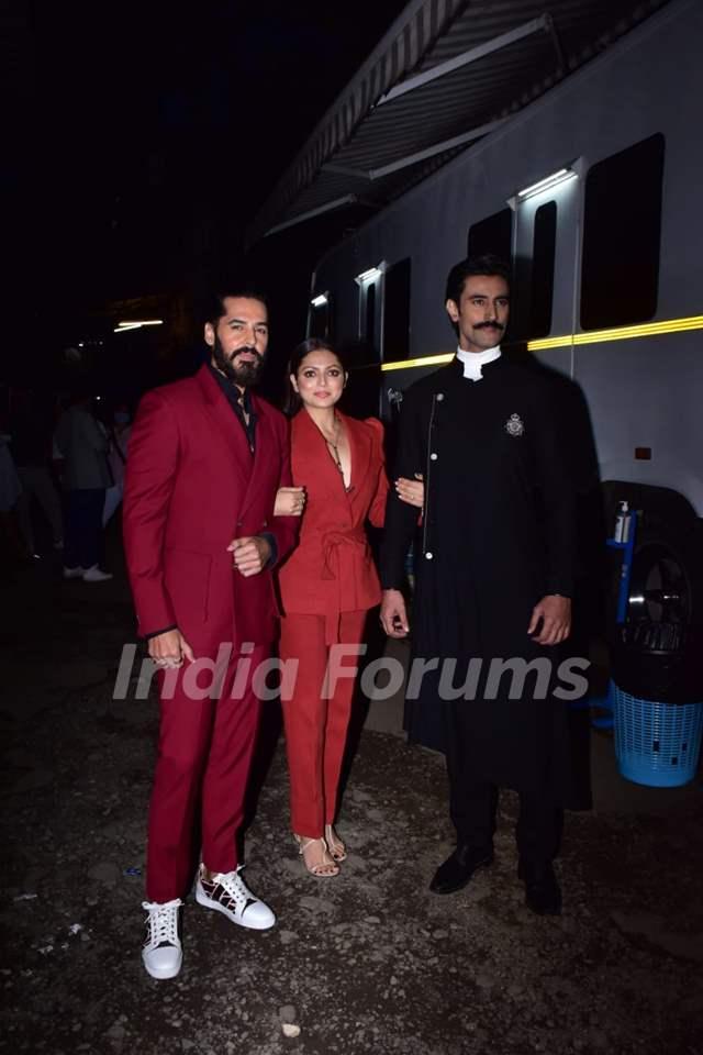 Kunal Kapoor, Drashti Dhami, Dino Morea, at the promotions of The Empire