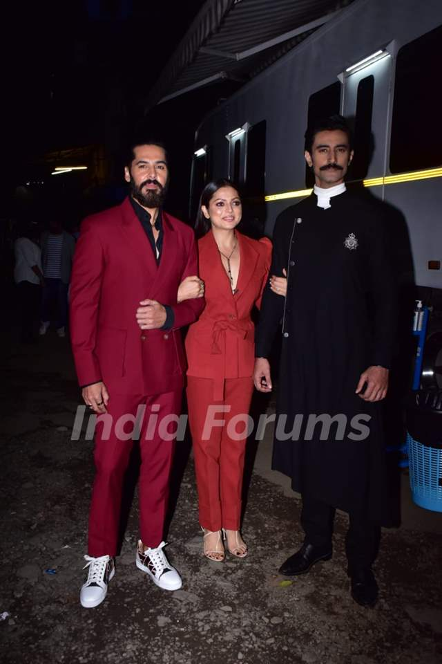 Dino Morea, Drashti Dhami, and Kunal Kapoor at the promotions of The Empire