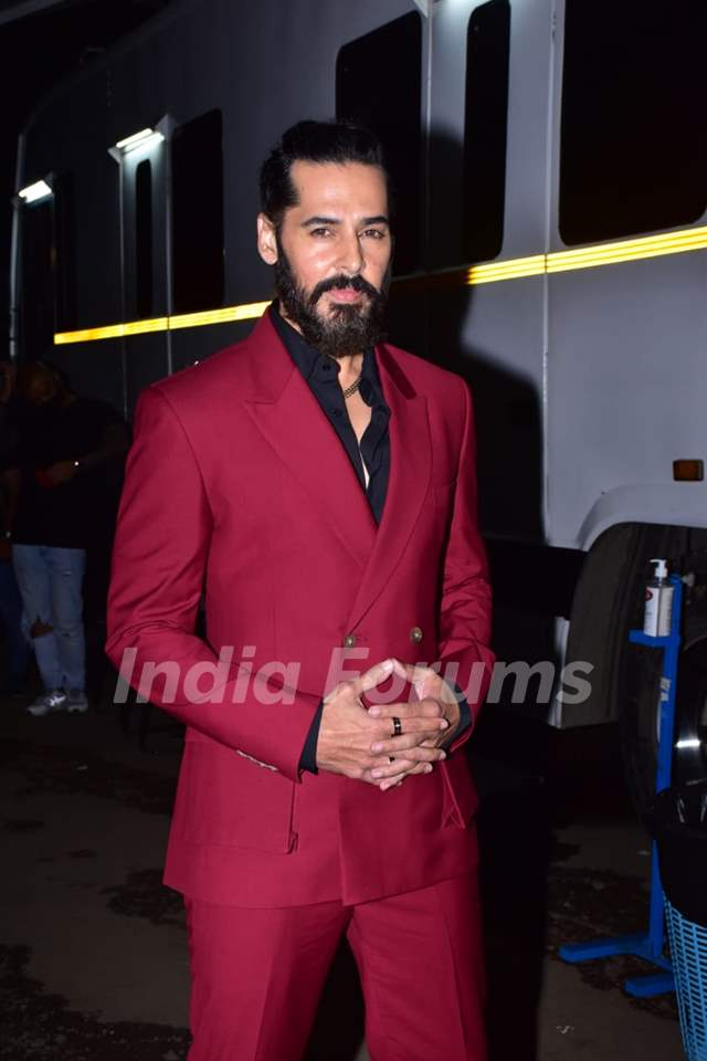 Dino Morea at the promotions of The Empire