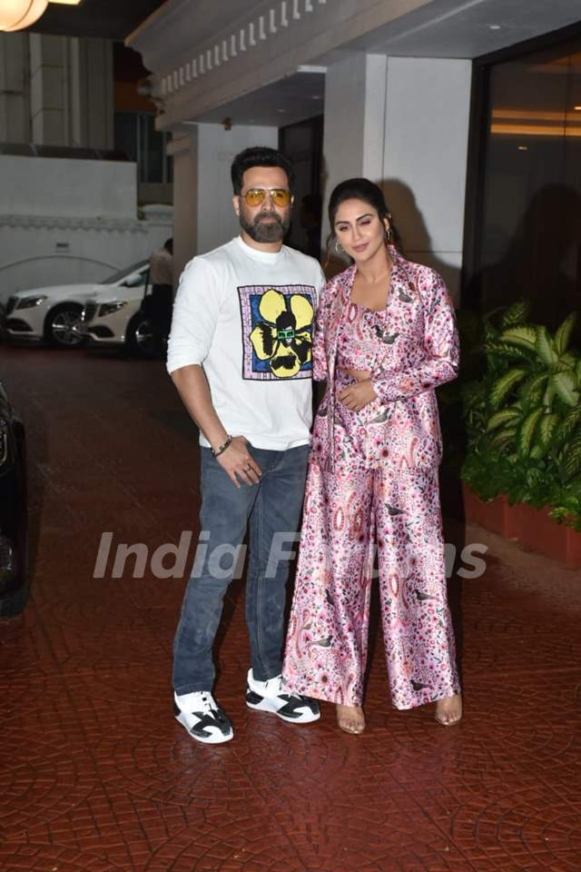 Emraan Hashmi, Krystle D'Souza snapped at the promotions of Chehre