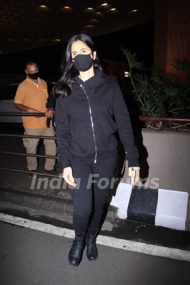 Katrina Kaif snapped at airport