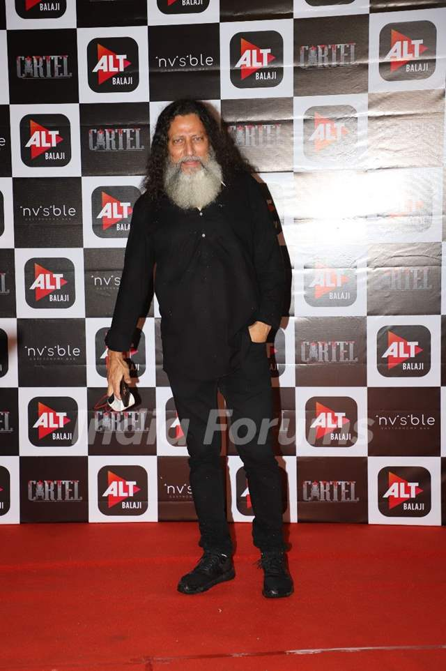 Anil George at Cartel's success party