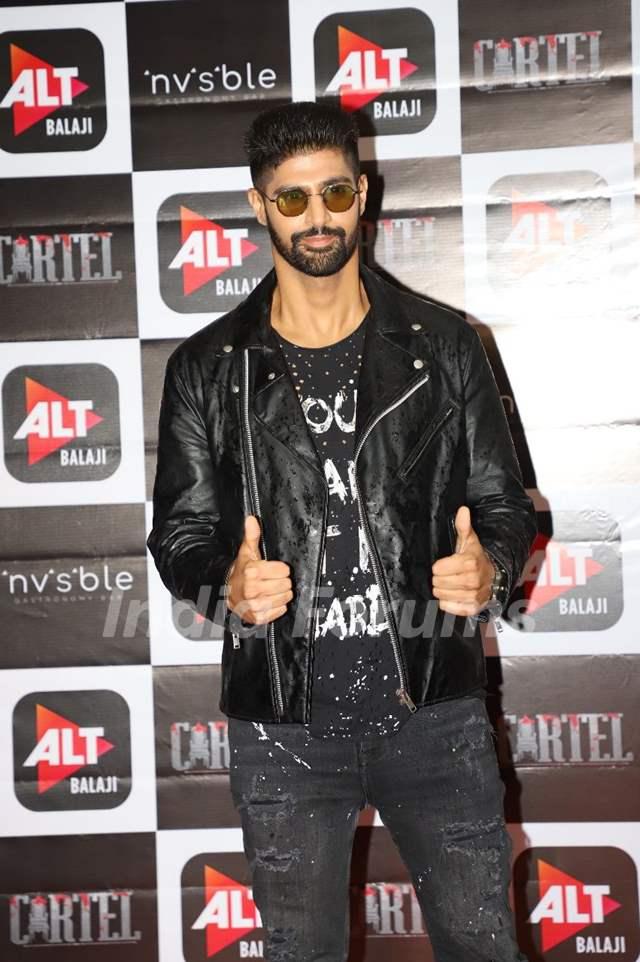 Tanuj Virwani at Cartel's success party