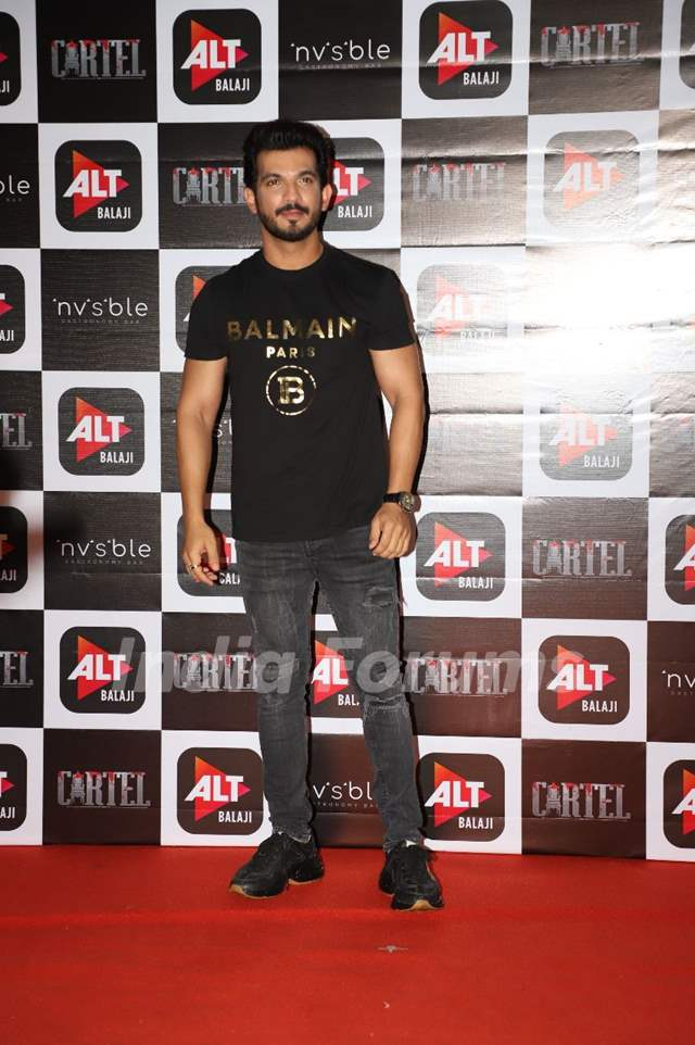 Arjun Bijlani at Cartel's success party