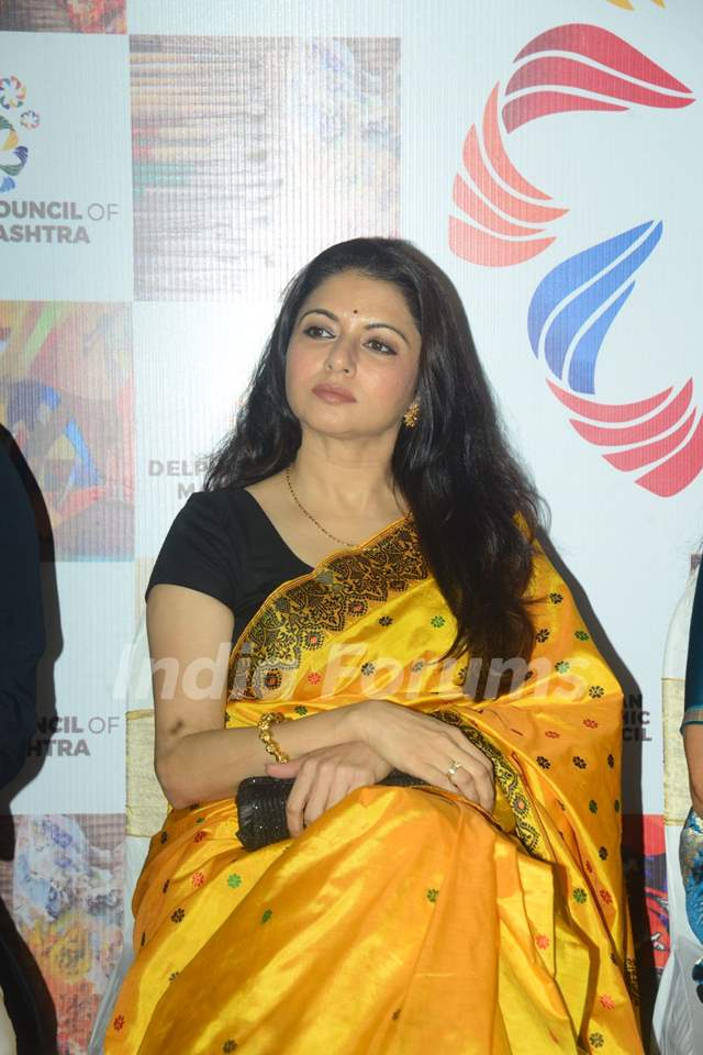 Bhagyashree at an event in Mumbai