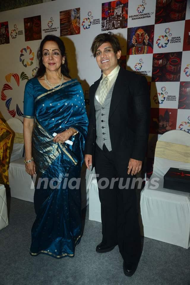 Hema Malini at an event in Mumbai