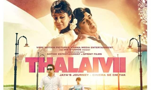 Thalaivii poster