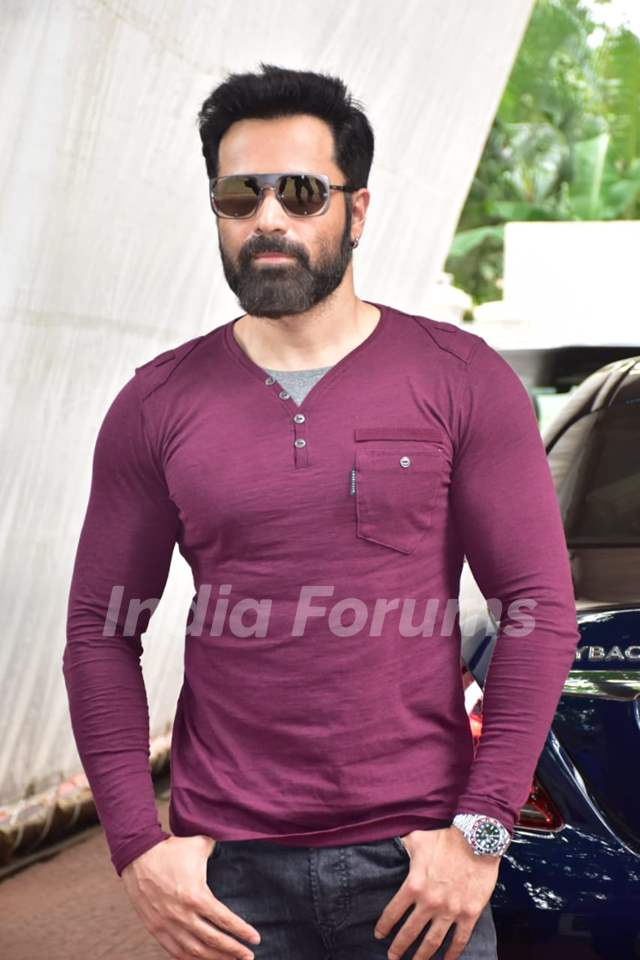 Emraan Hashmi at the promotions of 'Chehre'