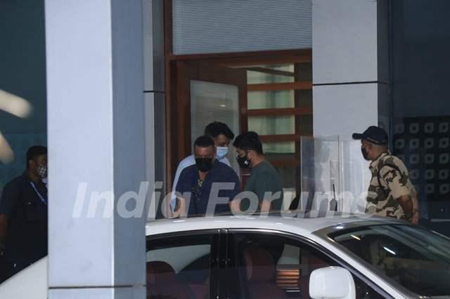 Sanjay Dutt Snapped at Kalina Airport