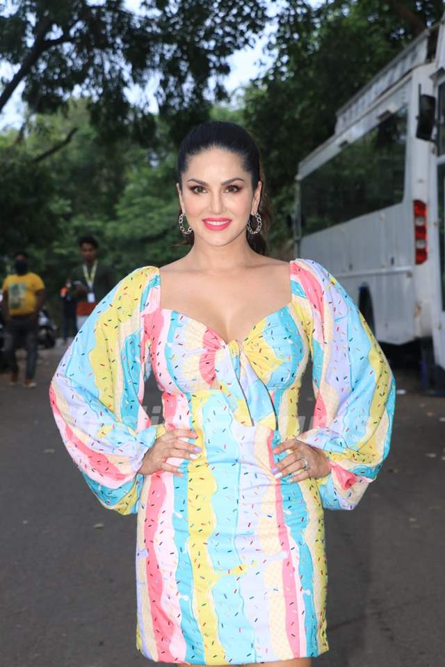 Karan Johar looks glamorous at the sets of Big Boss OTT